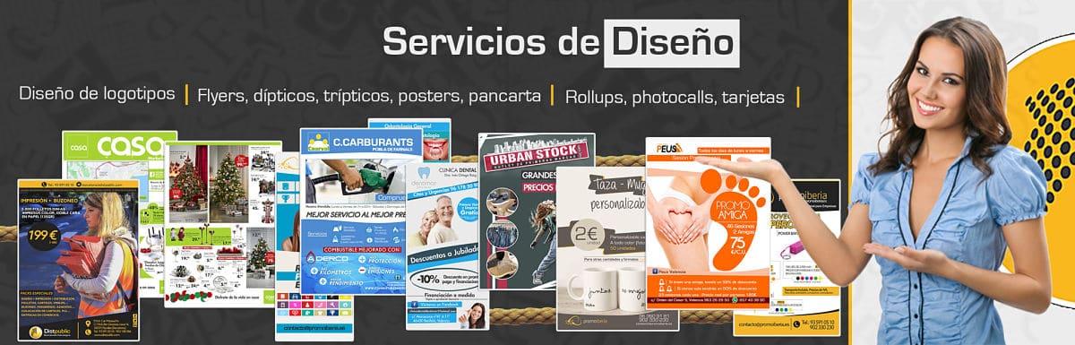 diseño en empresa buzoneo Barcelona